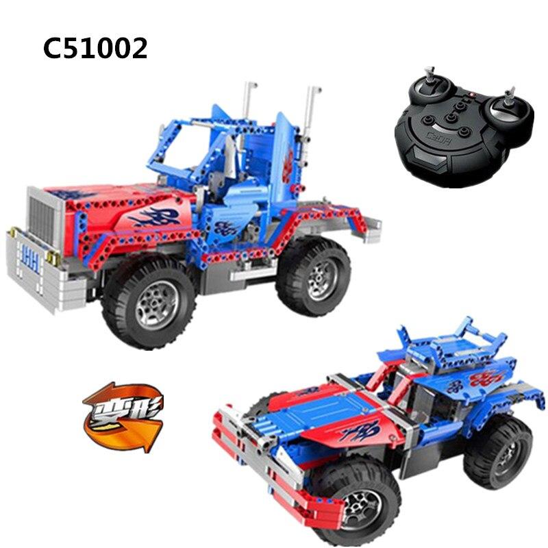 531 pièces 2 en 1 Technic City blocs de construction briques transformables Optimuse Prime véhicule de manière léchante Figure RC camion voiture modèle jouets
