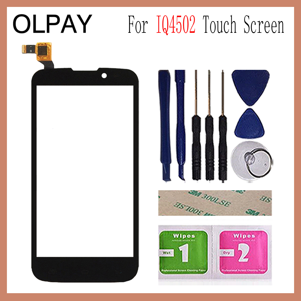 OLPAY 5.0'' Touch Panel For Fly IQ4502 IQ 4502 Qud ERA Energy 1 Touch Screen Glass Digitizer Panel Lens Sensor Glass|Mobile Phone Touch Panel| |  - title=
