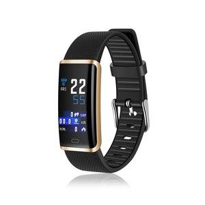 Image 4 - SENBONO R9 スマートブレスレット男性女性防水フィットネストラッカースマートバンド血圧心拍数モニターのための IOS