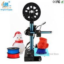 2017 Последним CREALITY 3D Дешевые Цвет 3d-принтер Металла Ender-2 Большой 3D Печать Размер DIY kit С 2 КГ PLA нити