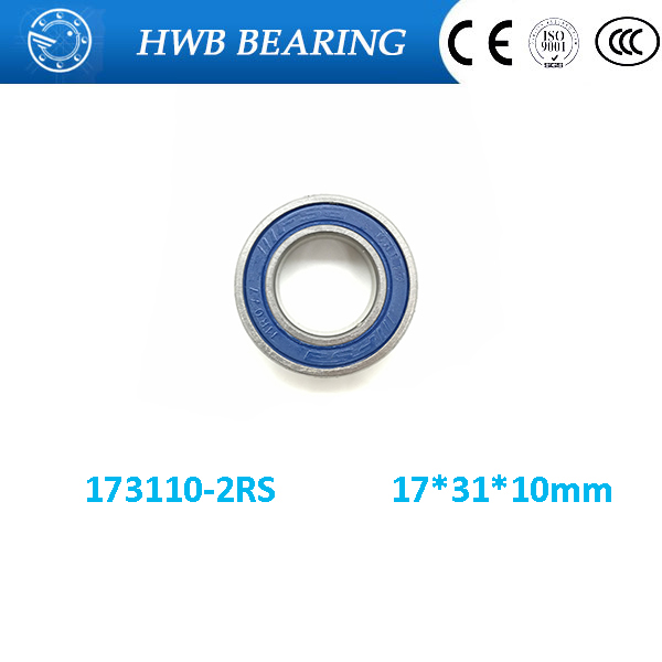Free shipping 173110-2RS hybrid ceramic deep groove ball bearing 17x31x10mm for bicycle part 17*31*10 mm free shipping 699 2rs 699 hybrid ceramic deep groove ball bearing 9x20x6mm for bicycle part hubs