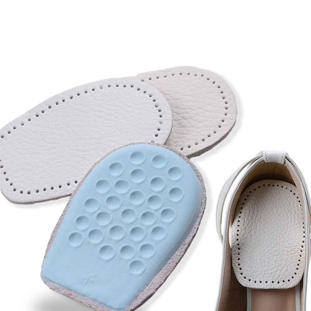 2019 새로운 도착 가죽 신발 패드 쿠션 뒤꿈치 컵 Insoles 마사지 삽입 남성과 여성 신발에 대 한 발 뒤꿈치 통증 박차 라텍스