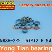 88888 высокое качество ABEC-5 Z2 двойной резиновый уплотнительный чехол миниатюрный шарикоподшипник MR85-2RS 5*8*2,5 мм
