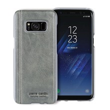 Pierre Cardin Genuine Leather Case for Samsung Galaxy S8, S8Plus