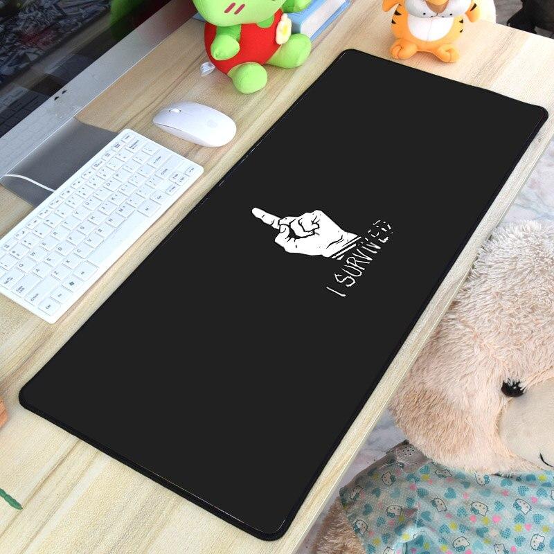 Mairuige XXL очень большие Размеры Tablet Pc геймерские Мышь pad погибших при дневном свете Горячая игра узор Мышь коврик для побег геймер игрока