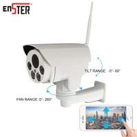 Enster PTZ Bullet Ip Camera Full HD 1080P Wireless IP Camera Wi Fi Auto Focus 2MP