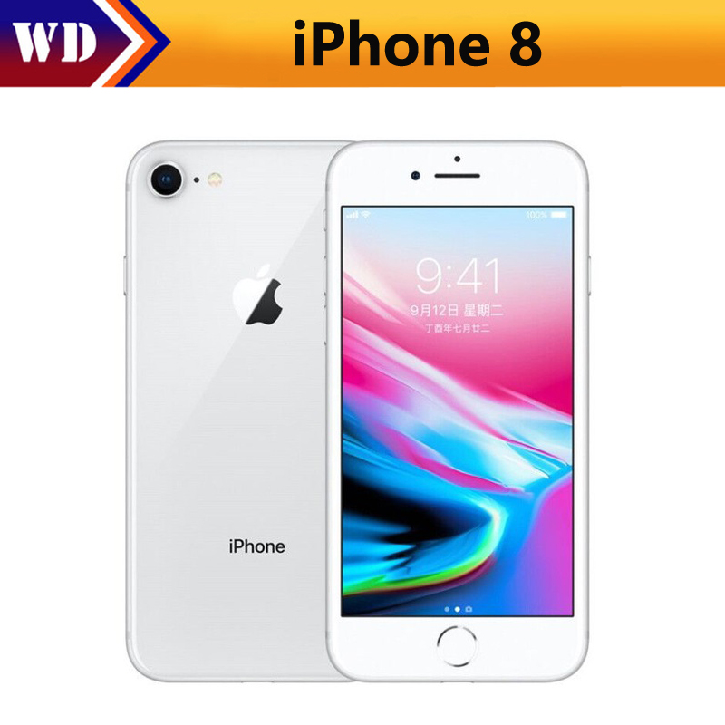 Original Unlocked Apple iPhone 8 4G LTE Mobile Phone 12MP Camera 326ppi Touch Sreen 4.7inch Hexa-core iOS 11 iPhone8 Smartphones(China)