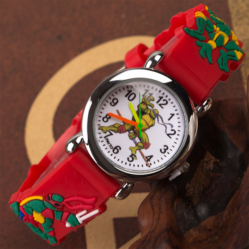 Cheap Promotion ! Kids Watch Children Quartz Watches Teenage Mutant Ninja Turtle Turtles Child Watch Sport Clock Boys Girls Gift