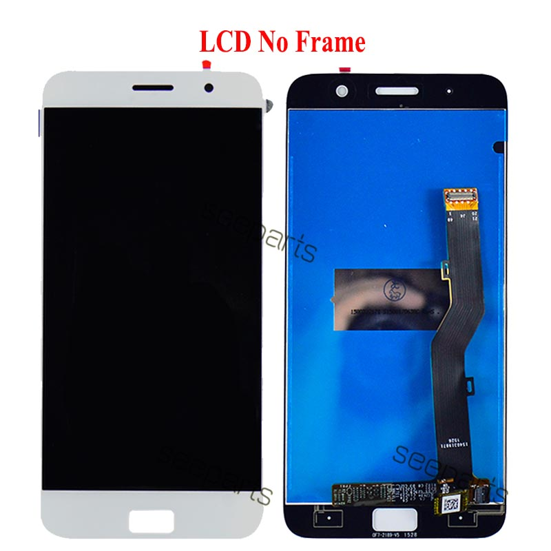 Image 3 - 5.5 Lenovo ZUK Z1 LCD Display Touch Screen Digitizer Assembly  With Frame Z1221 Replacement Parts Lenovo ZUK Z1 DisplayMobile Phone  LCD Screens