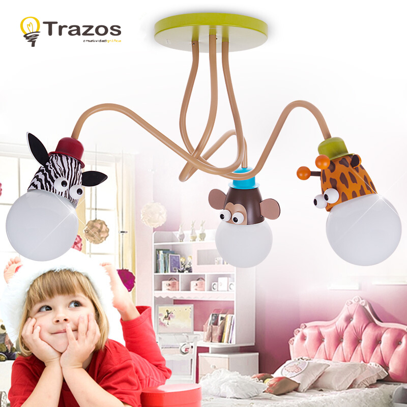 children's light model animal Giraffe lovely lamps for children rooms Child ceiling light decoration lighting for kid room