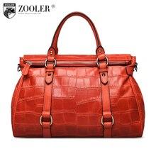 ZOOLER genuine leather Bag Ladies Luxury woman bags bag handbag fashion handbags OL Style quality bag