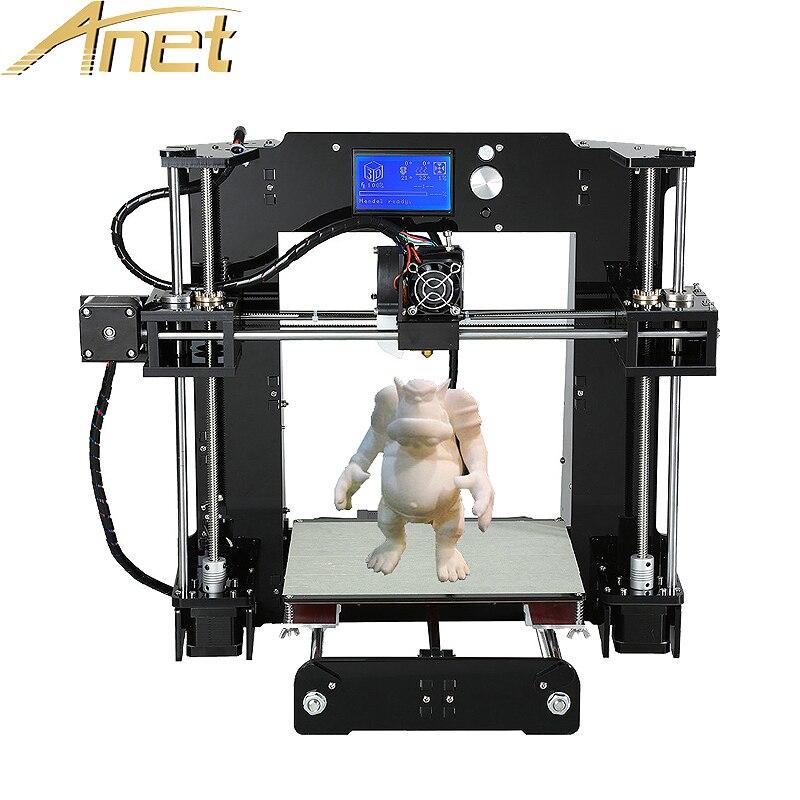 Anet A6 Auto level Normal A8 3d printer Reprap Prusa i3 3D Printer Kit DIY With