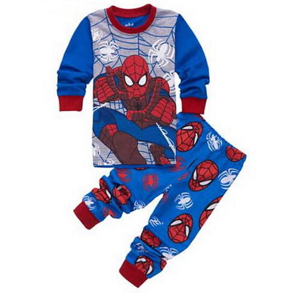 New Arrival Suits Baby Boys Pajamas Children Nightclothes Kids