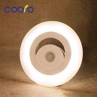 Ledセンサーライトaaaバッテリーpir人体モーションライトランプ可動壁ランプ家の照明光センサー自動起動
