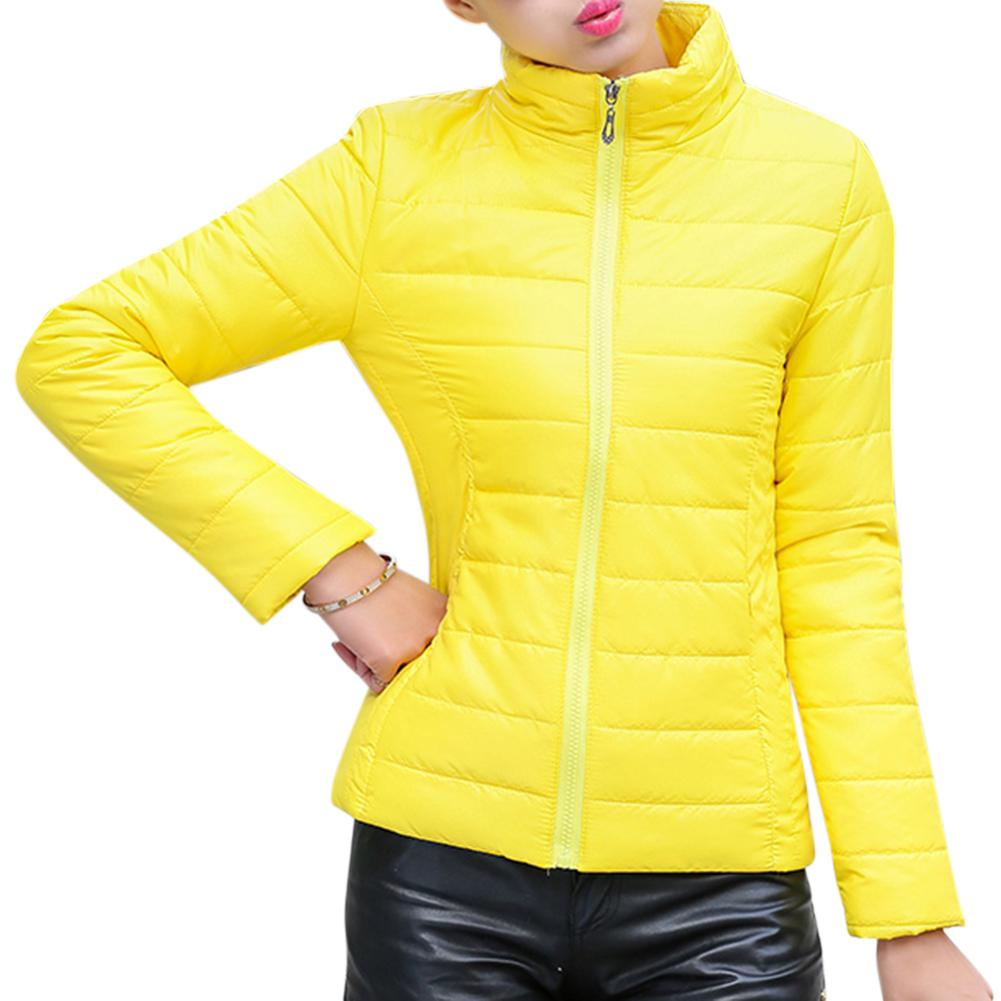 Zacoo Women Fashion Short Slim Padded Jacket Warm Thicken Cotton Casual Coat Tops 2019 Latest Style Online Sale 50%