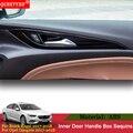 QCBXYYXH автомобильный Стайлинг 4 шт./лот ABS украшение блёстки авто внутренняя дверная ручка коробка блёстки для Buick Regal 2017 2018 Opel Insignia