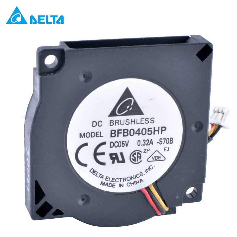 US $7 48 12% OFF|DELTA BFB0405HP 3 5CM Mini Notebook USB Turbo Blower  Centrifugal Fan 3507 5V 3 3V 0 32A-in Fans & Cooling from Computer & Office  on