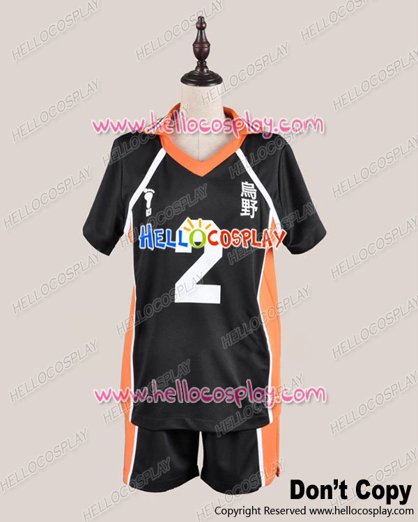 Japanese Anime Outfit The 2nd Ver Haikyu Cosplay Juvenile  Uniform Costume H008