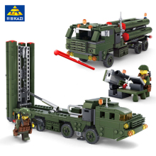 KAZI Military War Building Blocks Field Army Vehicle DIY Construction Bricks Compatible with lego Kids Educational Toys