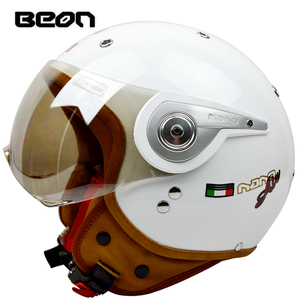 Image 4 - באון בציר מכביש מוטוקרוס Feminino אופנוע חצי קסדת ראש כיסויי ראש קסדה capacete casco רכיבה עבור קסדות