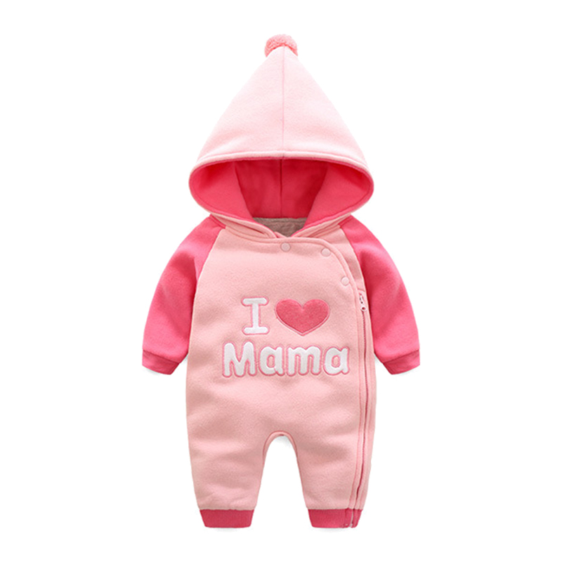 Autumn Baby Rompers Fashion Baby Boy Clothes Newborn Clothing Warm Fleece Baby Girl Clothes Roupas Bebe Infant Baby Jumpsuits