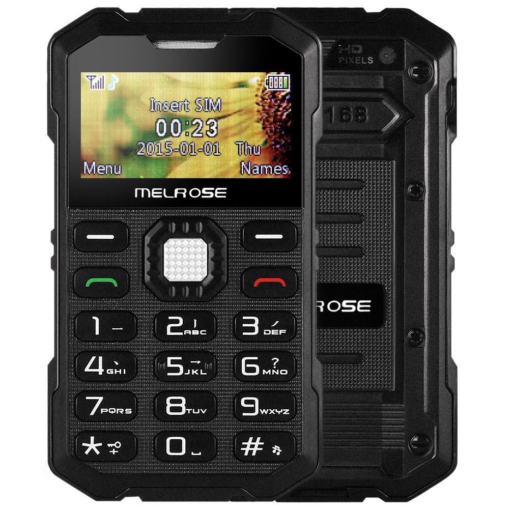 Melrose S2 Mini Shockproof GSM New Keyboard Mobile-Phone Student Support-Camera Sim-Card