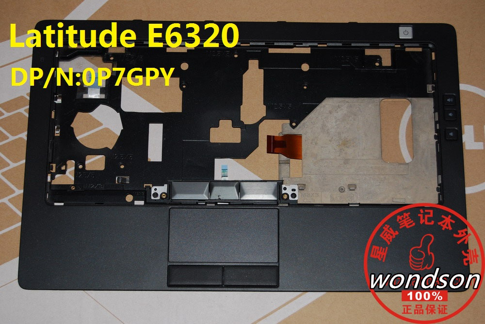 Free Shipping For Dell E6320 Palmrest Touchpad Top Cover CN 0P7GPY P7GPY w 1 Year Warranty