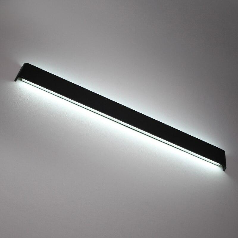Sodobne minimalistične stenske svetilke LED aluminijaste spalne - Notranja razsvetljava - Fotografija 3