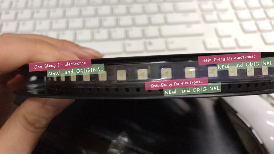 600PCS LED Backlight Flip Chip LED 2 4W 3V 3535 Cool white 153LM LCD Backlight for