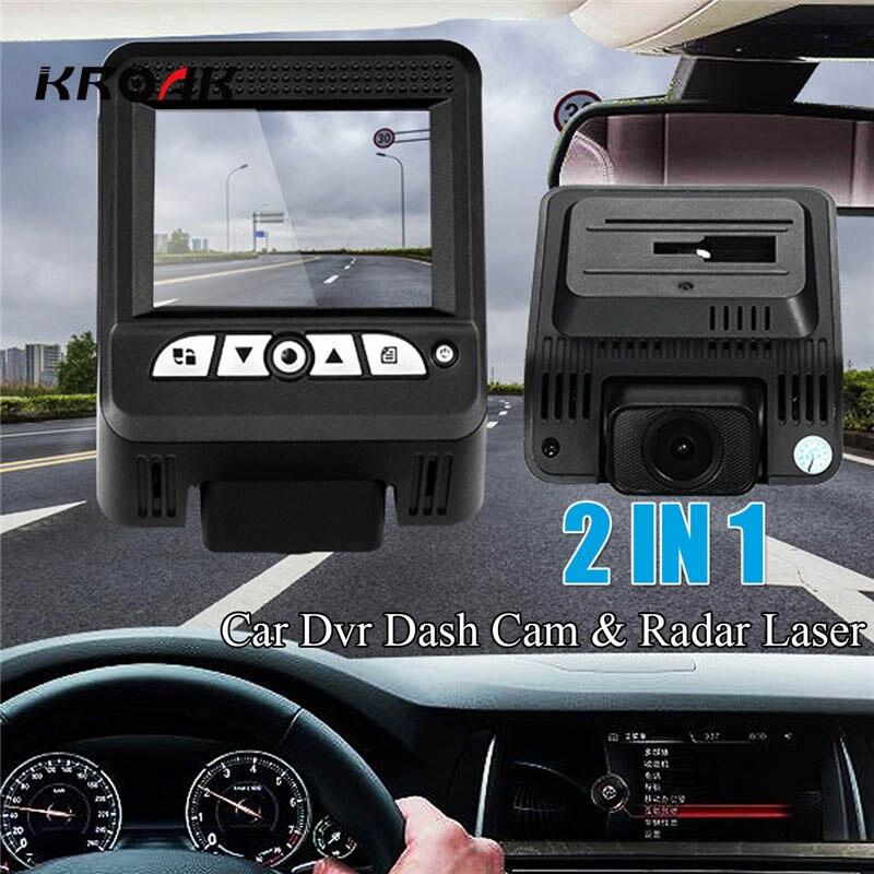 Mini Car DVR Camera 2 In 1 1080P Full HD Video Recorder Car Camcorder Camera G-SENSOR Dash Cam LDT Radar Laser with Car Charger цена