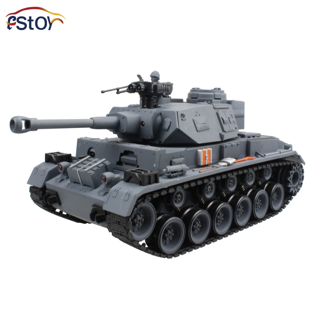 15 Channel 1/20 RC Tank Panzerkampfwagen German Panther 3 Main Battle Tank Model With Shoot Bullet цена и фото