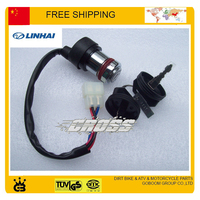 Linhai ATV UTV QUAD accessories 250cc 260cc 300cc 400cc ignition switch lock free shipping