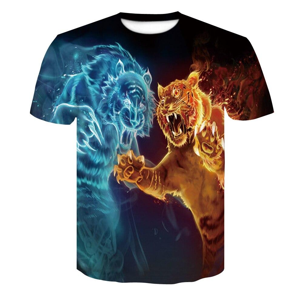 0a3f1168ddd 3D Clown T Shirt Skull Skeleton Summer T shirts Men Women Hip Hop ...