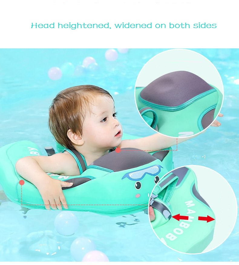 Baby Swimming Ring Solid No Inflatable Safety For accessories floating Floats Swimming Pool Toys (5)