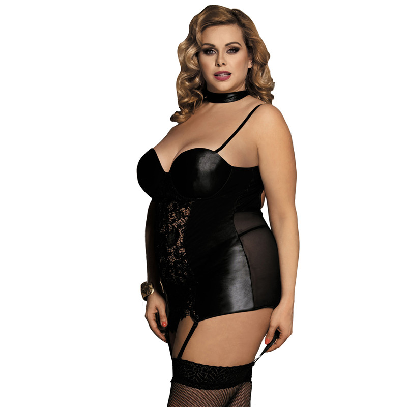 Sexy plus size costume strip 6