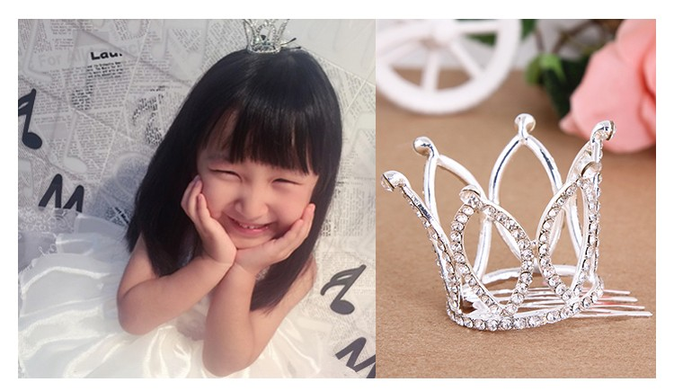 HTB1zd9QNXXXXXaGXVXXq6xXFXXXh Dainty French Rhinestone Crystal Mini Tiara Hair Accessory For Girls/Women