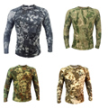 2016New combat shirt military camouflage outdoor tactical training Leotards quick-drying multicam military uniform taticot shirt