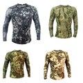 Camisa de combate 2016New Leotardos entrenamiento táctico militar de camuflaje al aire libre de secado rápido camisa multicam uniforme militar taticot