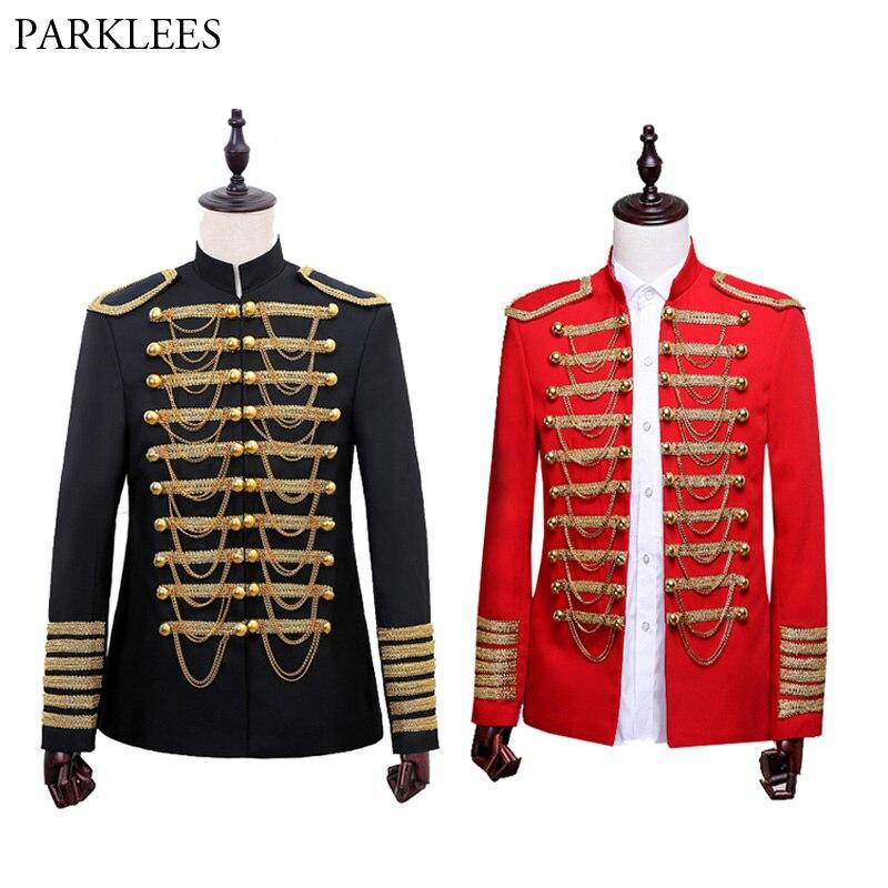 Mens Black Gold Sequins Blazer Jacket 2018 Nightclub Bar Dance Prom Suit Blazer Men Party Stage Singer Costume Blazer Masculino-in Blazers from Men's Clothing    1