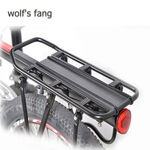 wolfs fang Bicycle Carrier fast-disassembled bike shelves aluminum alloy mountain bicycles rear seat riding Free shipping