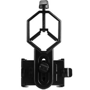 Image 4 - Uniwersalny mikroskop teleskopowy obiektyw aparatu telefon komórkowy fotografia stojak Adapter dla iPhone Samsung xiaomi dołącz uchwyt telefonu