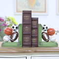 Nordic Ball Sports Home Decoration Bookstand Creative Books By Studio Children's Room Ornament