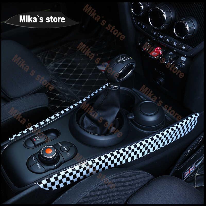 ABS pour BMW Mini Cooper F54 F60 Clubmen Countrymen panneau d'engrenage boîte de vitesses automatique décoration couvre panneau de décoration de style de voiture