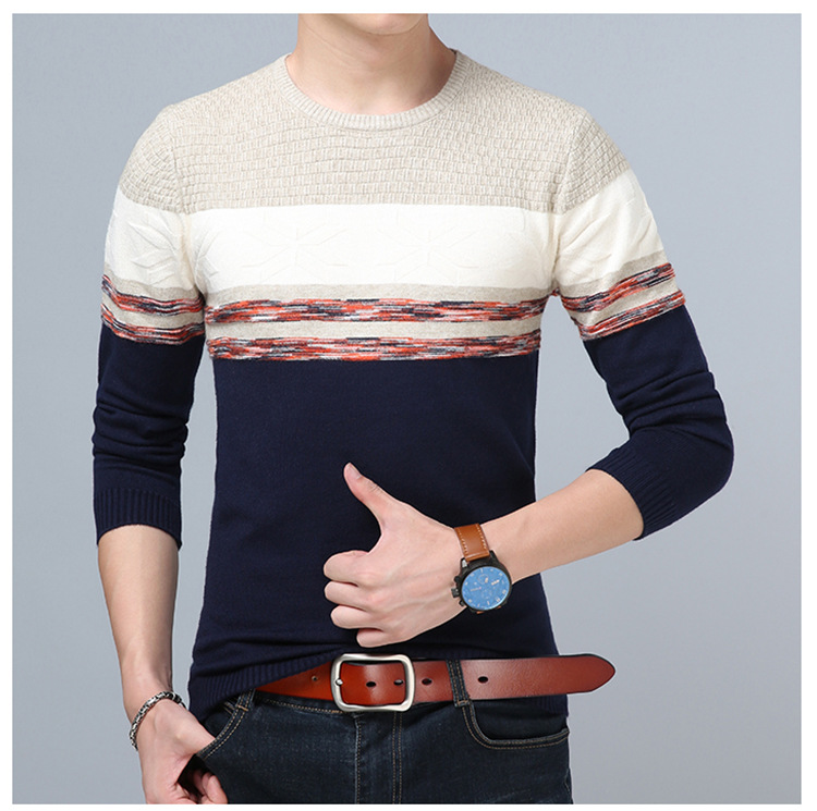 Cheap wholesale 2017 new Autumn Winter Hot selling men fashion casual warm nice Sweater X8-171019Z