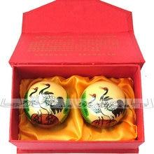 health ball Baoding fitness handball crane in the elderly to give a birthday gift hand ball