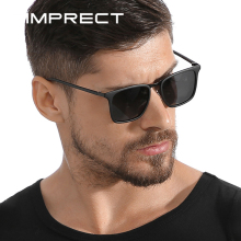 SIMPRECT TR90 Polarized Sunglasses Men 2019 UV400 High Quality Square Sunglasses Retro Anti-glare Dr