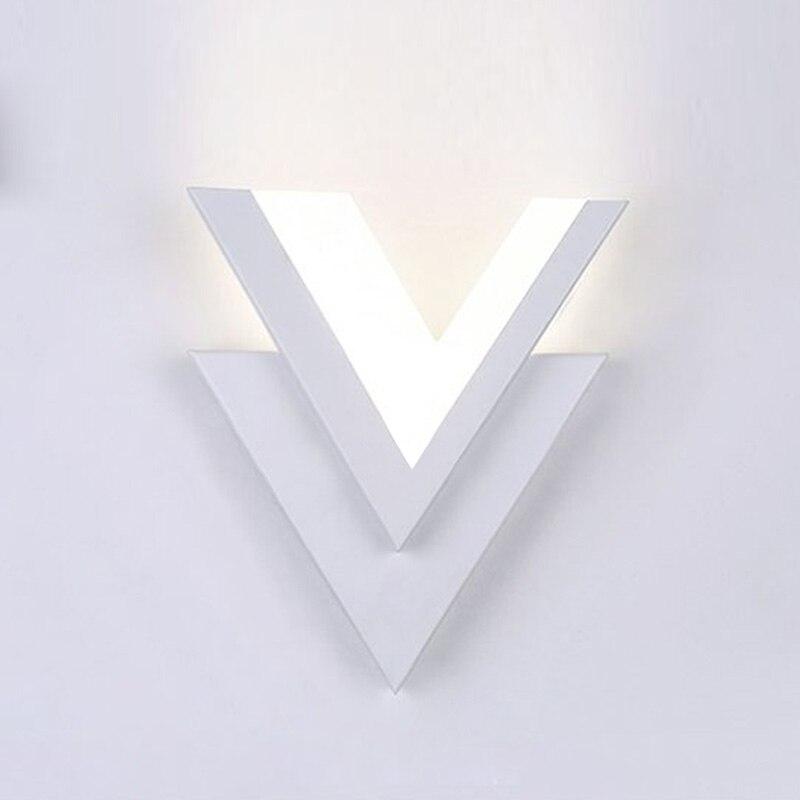 Modern LED Wall Lights Bathroom Bedroom Bedside Reading Indoor Lighting Acrylic Lampshade Restaurant Hotel Decoration Lamp