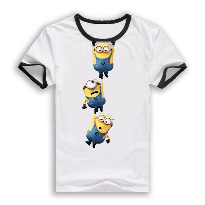 hot summer style clothing despicable me minions t shirt. Black Bedroom Furniture Sets. Home Design Ideas