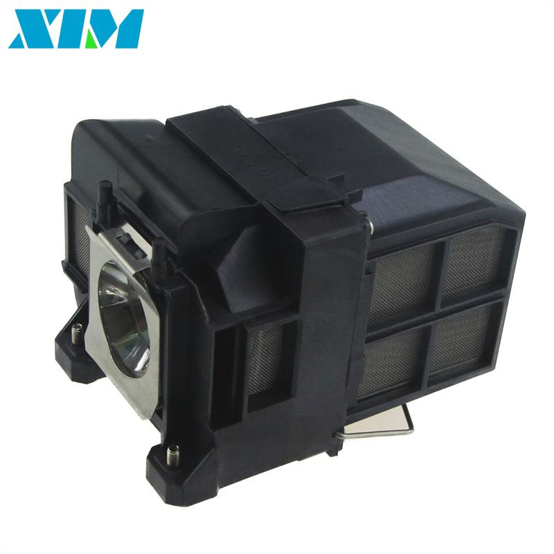High Quality ELPLP75 Compatible Projector Lamp with Housing for Epson EB-1940W EB-1945W EB-1950 EB-1955 EB-1960 EB-1965 EB-1930 elplp57 v13h010l57 compatible projector lamp with housing for epson eb 440w eb 450w eb 450wi eb 455wi eb 460 eb 460 projectors