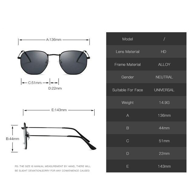 Metal Classic Vintage Sunglasses Luxury Brand Design Female Eyewear 4